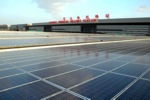 Hongqiao Railway Station Shanghai, China, courtesy CECEP Solar Company
